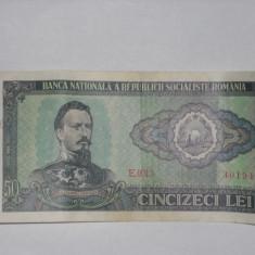 50 LEI 1966 ROMANIA (CINCIZECI LEI)