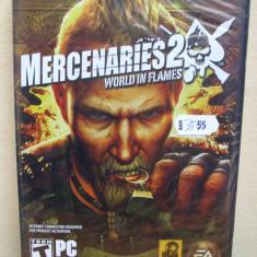 Mercenaries 2: World in Flames (PC) SIGILAT!!! (ALVio) + sute de alte jocuri originale - Jocuri PC Electronic Arts, Actiune