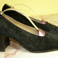 Pantofi dama piele marimea 38 locatie raft ( 30 / 5 ), Marime: 38, Negru