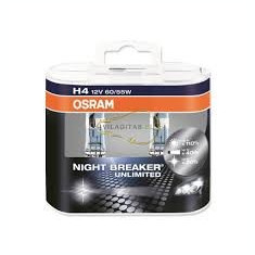 BEC AUTO H4 12V OSRAM NIGHT BREAKER UNLIMITED, Becuri auto H4