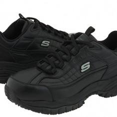 Adidasi barbati - Pantofi sport barbati SKECHERS Work Soft Stride | Produs original | Se aduce din SUA | Livrare in cca 10 zile lucratoare de la data comenzii