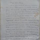 Scrisoare trimisa de la Paris in 1966 catre o prietena de Colomba Voronca , sotia lui Ilarie Voronca , cu mentionarea lui Sasa pana , avangarda