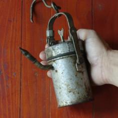 Lampa de carbit - lampa miniera de mana !!!