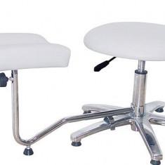 Suport Pedichiura Cu Picior Si Scaun Reglabil Pe Inaltime Ucenic Profesional