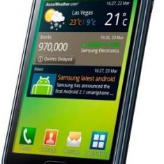 Telefon mobil Samsung Galaxy S, Negru, 16GB, Neblocat - De vanzare samsung galaxy GT I9000