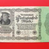 Bancnota Straine, Europa - GERMANIA - 50.000 Mark 1922