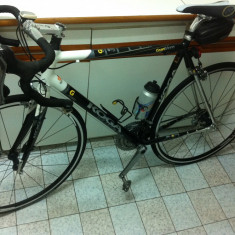 Cursiere, Numar viteze: 27, Aluminiu, Negru-Alb-Albastru, Baieti, Curbat(Risebar) - Bicicleta Semicursiera Marca KOGA Miyata GranWinner