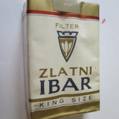 Pachet tigari - PACHET NOU TIGARI COLECTIE ZLATNI IBAR DIN ANII 80