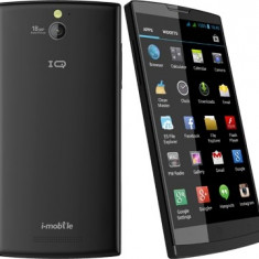 Vand Smartphone IQ 6.3, lansat in Ianuarie 2014 - Telefon mobil Dual SIM, Negru, 32GB, Neblocat, Dual SIM, Quad core