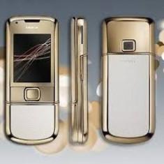 Telefon mobil Nokia 8800 Gold Arte - Nokia 8800 Gold arte nou, original 1an garantie telefon si incarcatorPRET:800euro