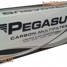 Foite tigari - Tuburi PEGASUS CU CARBON activ/ tuburi tigari injectat tutun/tabac/filtre tigari