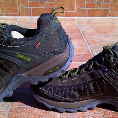Pantofi sport - trekkingTeva Raith eVent, marimea 42 - Pantofi barbati Teva, Culoare: Khaki, Piele sintetica