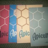 APICULTURA-REVISTE 4 BUCATI NR 1/1965/10/1965-10/1966/11/1966