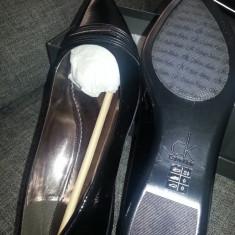 Pantofi Calvin Klein noi - Pantof dama Calvin Klein, Marime: 39, Culoare: Negru