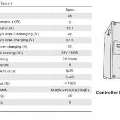 CENTRALA EOLIANA-Model 5KW off grid- system/Generator Eolian /Controller - Generator curent