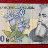 ROMANIA 10000 10.000 LEI 1999 SERIA DEOSEBITA 002B0075057 UNC **, An: 1999