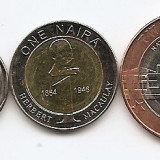 Nigeria Set - 0, 50, 1, 2 Naira (2006) UNC !!!, Africa, An: 2006