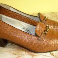 Pantofi dama piele marimea 38 locatie raft ( 5 / 11 ), Marime: 38, Maro