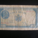 BBR1 - 5 000 LEI - EMISA IN ANUL 1945