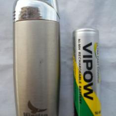 Frumoasa Bricheta Metalica Winston functionala reincarcabila (cu gaz ) - Bricheta Zippo, Moderna (1970 -acum)