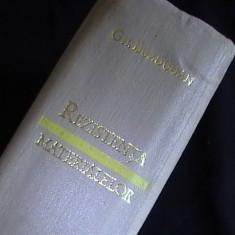 REZISTENTA MATERIALELOR-GH. BUZDUGAN- - Carti Metalurgie