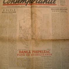 Ziarul Contemporanul nr.49-29 aug.1947 - Revista vintage