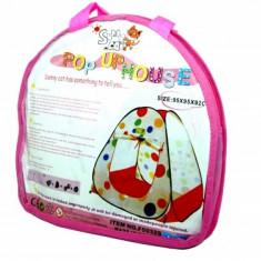 Casuta/Cort copii - Cort de joaca cu bulinute