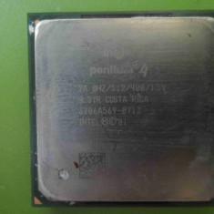 Procesor Intel Pentium 4 2GHz 512K fsb 400 socket 478 - Procesor PC Intel, Numar nuclee: 1, 2.0GHz - 2.4GHz
