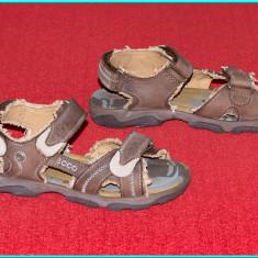Sandale copii Ecco, Unisex, Piele naturala - DE FIRMA _ Sandale piele, design vintage, comode, ECCO _ baieti, fete | nr. 30