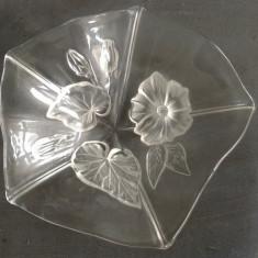 Bomboniera din sticla cu motive florale !!! - Arta din Sticla