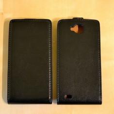 Husa telefon Accessorize, Allview P5 Quad, Negru - Husa Flip Case Inchidere Magnetica ALLVIEW P5 QUAD Black + FOLIE