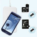 Incarcator Telefon, Wireless - Incarcator wireless si receiver de birou Qi Samsung Galaxy S4 i9500 i9505