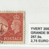 ANGLIA   1951  - 257. 5S -  STAMPILAT