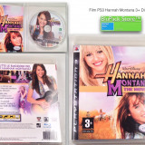 Disc PS3 film cu muzica Hannah Montana The movie Walt Disney production Play Station stare buna 3+ Sony hituri internationale dans Garantia de livrare