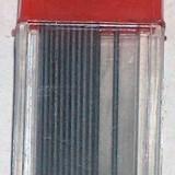 Mine negre 0.5 mm - 7 x 12 buc.