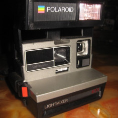 Aparat Foto cu Film Polaroid - Polaroid 630 LightMixer, LM Program, 600 land camera.