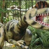 Dinozaur electric din plastic - Instrumente muzicale copii