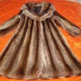 Haine dama - HAINA DE DAMA, din blana naturala de RATON, marime 42