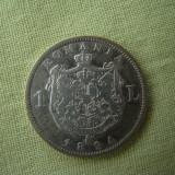 1 leu 1894 - 1 - Moneda Romania