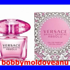 PARFUM DAMA VERSACE BRIGHT CRYSTAL ABSOLU 90ML - Parfum femeie Versace, Apa de parfum