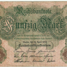 GERMANIA 50 MARK MARCI 1910 [1]
