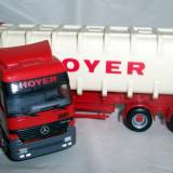 Herpa Mercedes ACTROS bulkcontainer HOYER 1:87 - Macheta auto