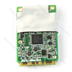 TV-Tuner PC, Intern - TV Tuner Mini PCI-E Hybird Analog + Digital DVB-T HDTV TV + FM Avermedia A301