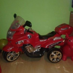 Masinuta electrica copii Altele, 4-6 ani, Unisex, Rosu - Motocicleta cu acumulatori pentru copii