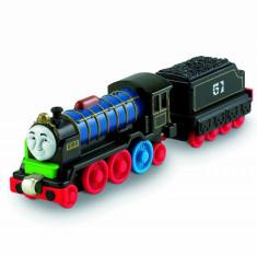 Trenulet de jucarie, Metal, Unisex - Take-n-Play cu magnet - Thomas trenulet jucarie - PATCHWORK HIRO - NOU
