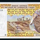 "Bancnota Straine, Africa - Statele de Vest Africane, ""D"" Mali 1000 francs 2003 necirculata semnatura diferita"