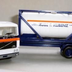 Macheta auto - Herpa VOLVO FH12 Intercooler container Kube & Kubenz 1:87
