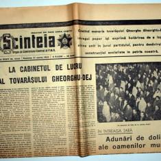 ZIAR VECHI - MOARTEA LUI GHEORGHE GHEORGHIU DEJ - SCINTEIA / SCANTEIA - 21 MARTIE 1965