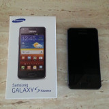 Telefon mobil Samsung Galaxy S Advance, Negru, 8GB, Vodafone - Vand telefon Samsung Galaxy S Advance I9070