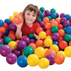 SET 100 MINGI Intex COLORATE Pentru copii